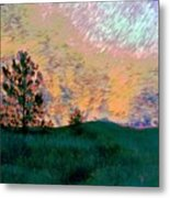 Sunrise-sunset Metal Print
