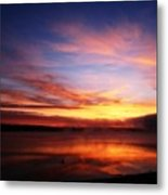 Sunrise Thunderbird Metal Print