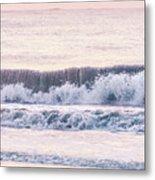 Sunrise Waves  Metal Print