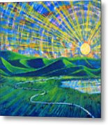 Sunscape Metal Print