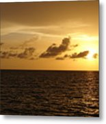 Sunset - Gulf Of Mexico Metal Print