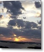 Sunset 0046 Metal Print