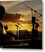 Sunset - 39 Metal Print