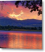 Sunset 6.27.10 - 28 Metal Print