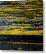 Sunset Abstract Metal Print
