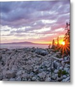 Sunset Acdia National Park  Metal Print