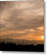 Sunset Ahuachapan 12 Metal Print