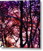 Sunset And Early Evening Nyc Metal Print