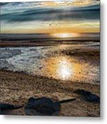 Sunset At Brewster Flats Metal Print