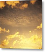 Sunset At Chinamans Hat Metal Print
