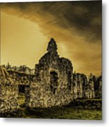 Sunset At Grace Dieu Metal Print