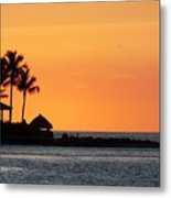 Sunset At Key West Metal Print