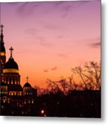 Sunset At Kharkov  Ukraine Metal Print