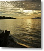 Sunset At Kitsilano Metal Print by Tom Buchanan