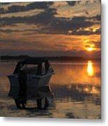 Sunset At Kiviranta Pt 2 Metal Print