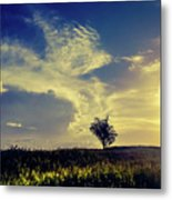 Sunset At Kuru Kuru Metal Print