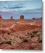 Sunset At Monument Valley No.2 Metal Print