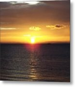 Sunset At Pacific Shores Metal Print
