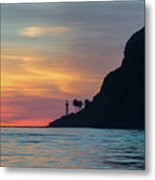 Sunset At Point Loma Metal Print