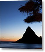 Sunset At Pokai Bay Metal Print