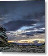 Sunset At Poolburn Reservoir 1 Metal Print