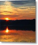Sunset At Princess Point Metal Print