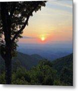 Sunset At Purgatory Mountain Metal Print