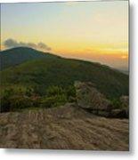 Sunset At Roan Mountain Metal Print