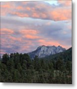 Sunset At Rocky Mountain Park.co Metal Print by James Steele