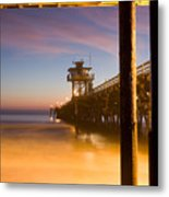 Sunset At San Clemente Metal Print