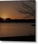 Sunset At Shell Point Metal Print