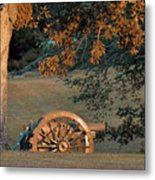 Sunset At Shiloh Metal Print
