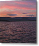 Sunset At Squam Lake New Hampshire Metal Print