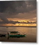 Sunset At Tabuena Beach 1 Metal Print