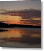 Sunset At The Gulf Of Bothnia 4 Metal Print