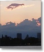 Sunset At The Lake5 Metal Print