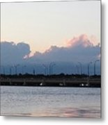 Sunset At The Lake8 Metal Print