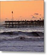 Sunset At Ventura Pier Metal Print