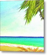 Sunset Beach #373 Metal Print