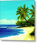 Sunset Beach Art North Shore Of Oahu In Summer #100 Metal Print
