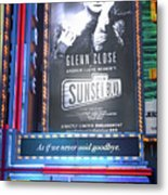 Sunset Boulevard On Broadway Metal Print