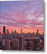 Sunset Burn Metal Print