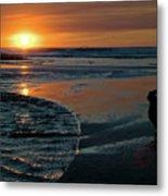 Sunset Capture Metal Print