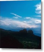 Sunset Cathedral Rock Sedona Arizona Metal Print