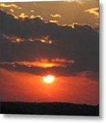 sunset CLO 108 Metal Print