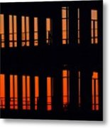 Sunset Color In The Spaces 2  Metal Print