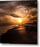 Sunset Delight  Metal Print by Kim Loftis