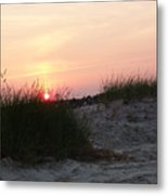Sunset Dewey Beach Metal Print