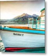 Sunset Dinner Cruise Metal Print