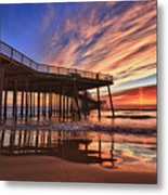 Sunset Drama Metal Print